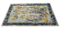 12x18 Marble Serving Tray Plate Mother Of Pearl Mosaic Inlaid Home Decor H1419
