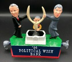 1996 Reynolds Mechanical Bank Clinton Dole Perot And03996 Political Wish President