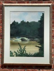 Chadds Ford Pennsylvania Landscape By John Mccoy Ii. Andrew Wyeth Contemporary