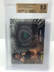 Carlos Condit 2012 Topps Ufc Bloodlines Relic /188 Bgs 9.5 Card