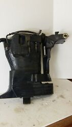 2010 Evinrude 40 Hp E-tec Mid Section 05284534, Remote Steering, Long Shaft