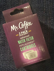 Mr. Coffee Advanced Water Filter Replacement Cartridges For Coffee Makers 2 Pack