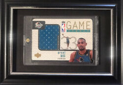 Grant Hill 1996-97 Ud Upper Deck Game Jersey Patch Blue Gj22