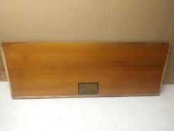 Globe Wernicke Antique Barrister Bookcase Parts Back Panel D10-1/4 299
