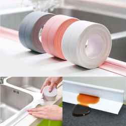 10FT Waterproof Wall Kitchen Stove Counter Gap Cover Guard Seal Slit Strip Tape