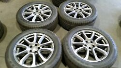 2016-18 Oem Maserati Ghibli 19 Wheels And Tires New Take Offs Ex Cond