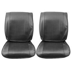 1964 Chevy El Camino Front Bucket Seat Cover Pair 64as55u In Stock