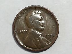 1922d Lincoln Wheat Penny Date From Album Set Collection F Condition M11