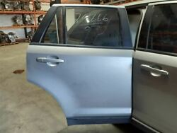 Passenger Rear Side Door Privacy Tint Glass Fits 07-10 Edge 683045