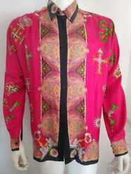 Gianni Versace Atelier Collection - Silk Menand039s Shirt Ultra Rare