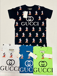 Gucci T Shirt Brand New With Tags Free Shipping Limited Micky Mouse Tee Shirts