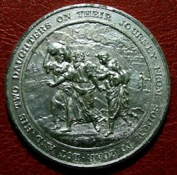 Judaeo Christian Journey Of Lot With His Daughters Sodom To Zoar Medal Thomason