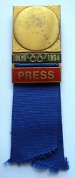 Summer Olympic Games Tokyo 1964 - Official Press Badge