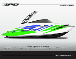Ipd Boat Graphic Kit For Yamaha 242 Limited, Sx240, Ar240 Ob Design