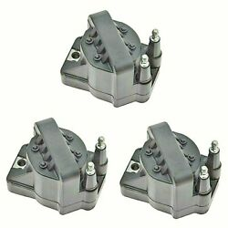 Ac Delco D555 Ignition Coil Set For 3 Kit For Buick Cadillac Chevy Pontiac Olds