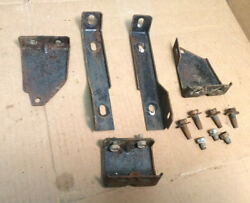 1961 And Other Thunderbird Swing A-way Column Dash 5 Piece Support Brackets/bolts