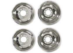 Namsco 7195go Stainless Steel Wheeliners For Dual Wheels - 19.5 Inches