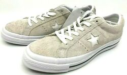 Converse New One Star White Suede Low-top Lace-up Sneakers 75 Us 8.5