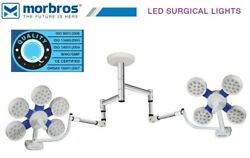 Double Led Ot Surgical Lights 130000 Ceiling Operation Theater Operating Lamp Rl