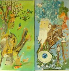 Mother Nature And Father Tyme Painting 252