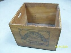 Vintage Soda Fountain Smiths True Fruit Fountain Syrup Wooden Crate Aandw