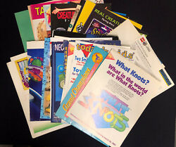 Lot Of Vintage Toy Catalogs, Inserts, Loose Pages