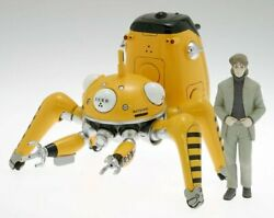 Ghost In The Shell S.a.c. Wave 124 Scale Pvc Figure Tachikomans Tachi-yellow