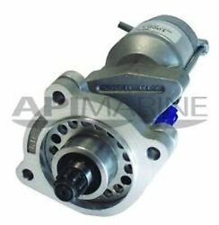 Chris Craft Starter 12v 9tooth Ccw Rotation 3bolt Mount Mdy7046,16.61-00045 And 51