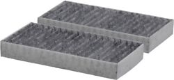 Fits Jeep Wrangler Jk 2007 - 2018 Carbon Cabin Air Filter Jeep Oem 55111302aa