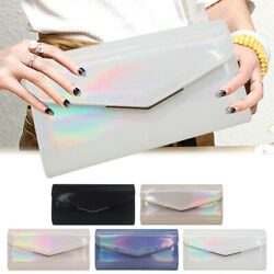 Women Banquet Flapover Birght Side Prom Party Wedding Evening Clutches Bags Club $13.98