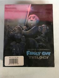 The Laugh It Up, Fuzzball The Family Guy Trilogy Blu-ray 3-discs Open Box