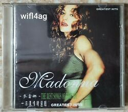 Madonna Limited Edition Rare China Chinese - Ghv2 Greatest Hits Cd Madame X