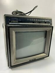 1987 Vintage Portable Tv Sears Model 580.40151651 - For Parts/repair