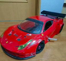 La Ferrari Offecial License 1/8 Scale Diecast Model Set Kyosho From Japan