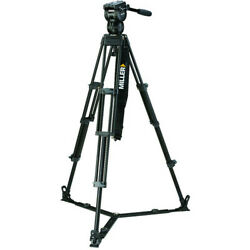Miller Cx2 Fluid Head With Toggle 75 2-stage Alloy Tripod System Ground Spreader