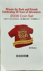 Japan 2006 Winnie The Pooh Coin Deluxe Set 80 Years Of Adventures