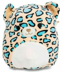 Kellytoy Squishmallow Large 20 Liv The Teal Leopard Plush Doll Pillow Pet Toy