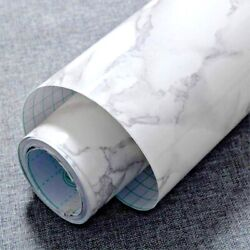 Marble Contact Paper Removable Wallpaper Film Self Adhesive Granite Sticker