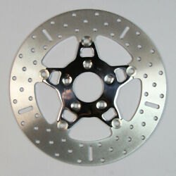 Ebc 5 Button Floater Wide Band Brake Rotor Polished Fsd010