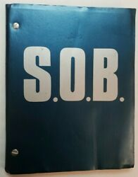 S.o.b. / Blake Edwards 1979 Screenplay, Julie Andrews And William Holden Comedy
