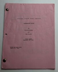 Tales From The Crypt 1991 Tv Script Season 3, Episode 9 Undertaking Palor