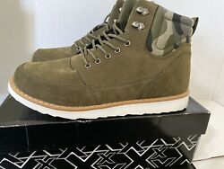 XRay Mens Boot Army Green Sz 11 Brand New