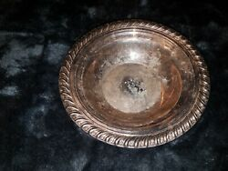 Silver Plated Vintage Wm. Rogers And Sons Small Bowl