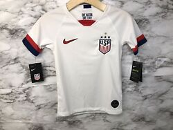 Us National Team-soccer Youth Home Jerseysize Small S Usa 2019/2020
