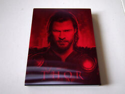 Thor 3d Blufans Exclusive Blu-ray Steelbook   Marvel Avengers Branagh   Like New