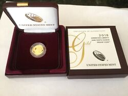 2018 American Liberty 1/10 Oz. Gold Proof Coin