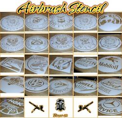 Airbrrush Stencils Mixxed You Pick Too Many Too List All 1 Layer