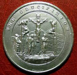 Judeo Christian The Crucifixion Medal By Thomason