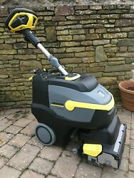 Refurbished Karcher Br35/12 Battery Operated Compact Floor Scrubber Dryer