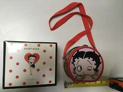 Westland Betty Boop And Pudgy Magnetic Salt And Pepper Shakers 2009 Nib And Lunchbox